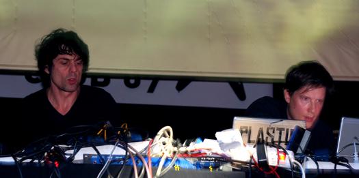 Mouse on Mars sur scène